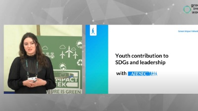 Youth contribution to SDGS through AIESEC